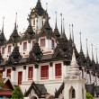 Stock Photo: Famous Roof Of Wat Ratchanadda, Bangkok