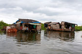 Cambodian Floating Village — Stock Photo