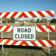 Road Closed Sign — Stock Photo #4280946