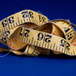 Stock Photo: Old Measure Tape