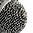 Closeup of Microphone - Stock Photo