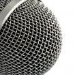 Stock Photo: Closeup of Microphone