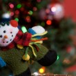 Snowman Ornament — Stock Photo
