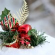 Stock Photo: Decoration in Snow
