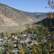 Small Colorado Mountain Town — Stock Photo
