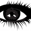 Smoky eye — Stock Vector #5331843