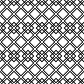 Seamless black-and-white pattern with square — Stock Vector