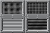 Metal texture background — Stock Vector