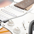 Royalty-Free Stock Photo: Electricguitar isolated on white background