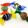 Stock Photo: Venetian glass sweets 2