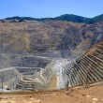 Open pit bakır madeni — Stok fotoğraf