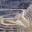 Close-up of Copper Mine Open Pit Excavation — Stock Photo #3995494