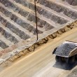 Giant Ore Truck at Copper Mine — Stock Photo