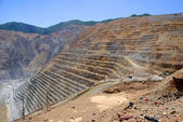 Open Pit Copper Mine — Stockfoto