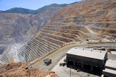 Mining Equipment Maintenance Shop at Copper Mine — Stock Photo