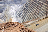 Copper Mine Close-up — Stockfoto