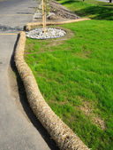 Soil Erosion Mitigation — Stock Photo