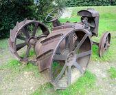 Tractor agrícola vintage — Fotografia Stock