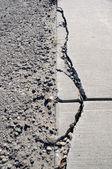 Damaged Sidewalk — Stock Photo