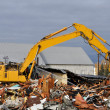 Old Building Demolition — Stock Photo