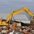Stock Photo: Old Building Demolition
