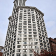Historic Smith Tower in Seattle - Stock Photo