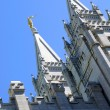 Stock Photo: Mormon Temple in Salt Lake City, Utah