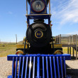 Historic Jupiter Steam Locomotive at Golden Spike National Monument - Stock Photo
