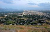 Downtown Salt Lake City at Dusk — Stock Photo