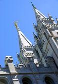 Mormon Temple in Salt Lake City, Utah — Stock Photo