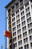 Historic Building Undergoes Renovation — Stock Photo