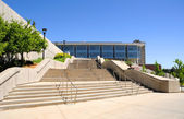Campus Library at the University of Utah — Stock Photo