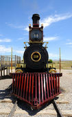 Historic Steam Locomotive at Golden Spike National Historic Monument — Stock Photo