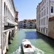 Barco taxi de Venecia - Stock Photo
