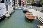 Bonitas vistas de un canal veneciano — Stock Photo