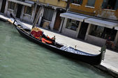 Gondola aparcada — Stock Photo