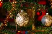 Christmas baubels — Stock Photo