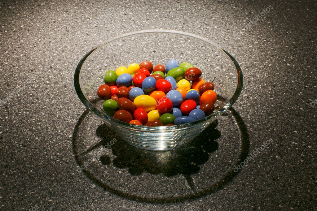 Assorted candy in a bowl — Stock Photo #4569338