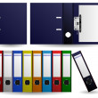 Royalty-Free Stock Vector Image: Files and Folders Ring Binder