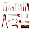 Set of Hardware Tool — Stock Vector #4559496