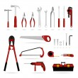 Royalty-Free Stock Vector Image: Set of Hardware Tool