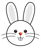 Cute Rabbit Vector — Stock Vector