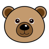 Cute Bear Vector — Stock Vector