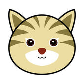 Cute kat vector — Stockvector