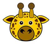 Cute Giraffe Vector — Stock Vector
