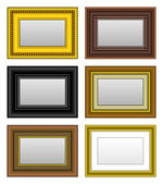 Frame Picture Photo Mirror — Stockvector