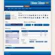 Royalty-Free Stock Vektorov obrzek: Web Design Element Template