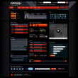 Vector de stock : Web Design Element Template