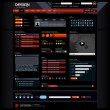 Web Design Element Template — Image vectorielle