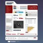 Web Design Element Template — Stock Vector #4561075